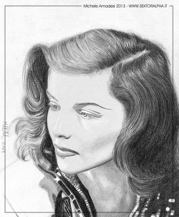 Katharine Hepburn por micheleamadesi